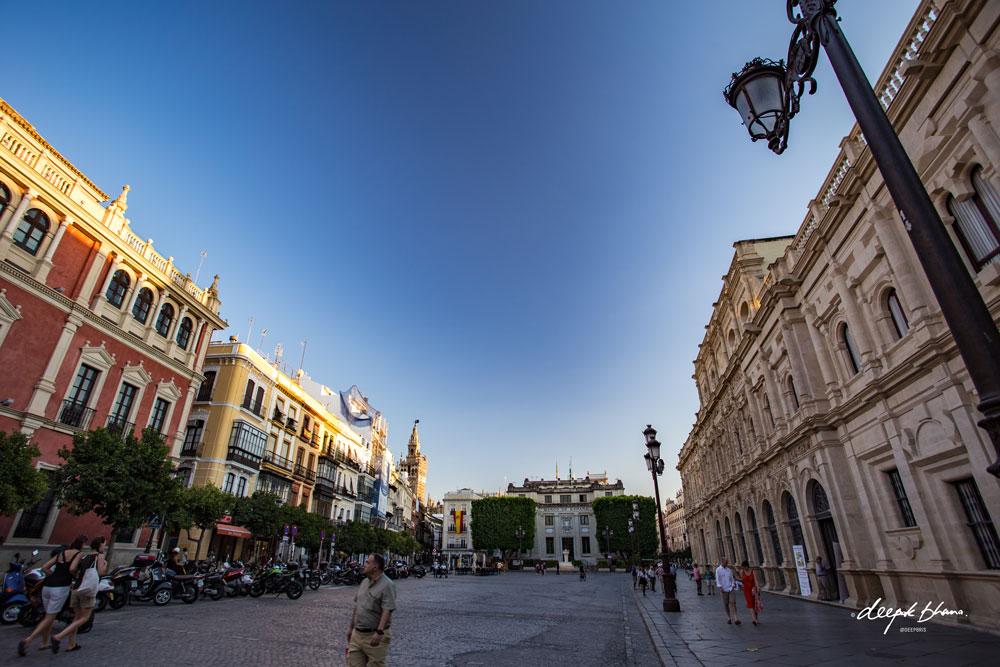 Seville-Spain-wide-street