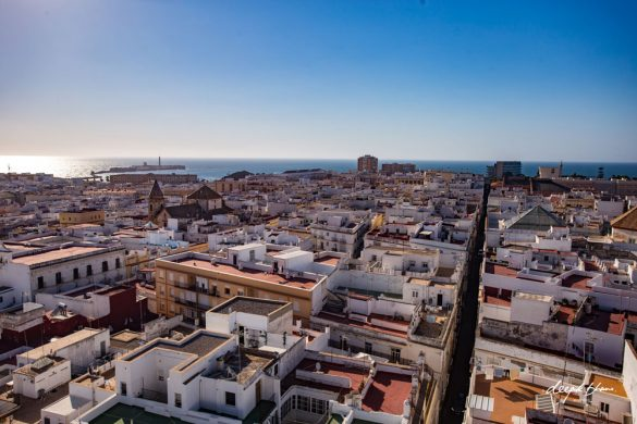 Cadiz day trip -Spain-town-view-of-Castilla-de-San-Sebastian