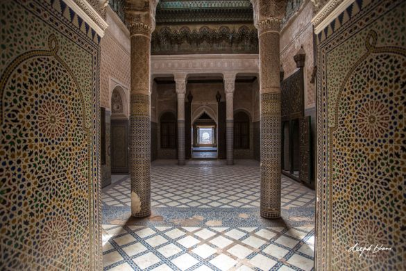 the-Telouet-Kasbah-Morocco-inside-hall