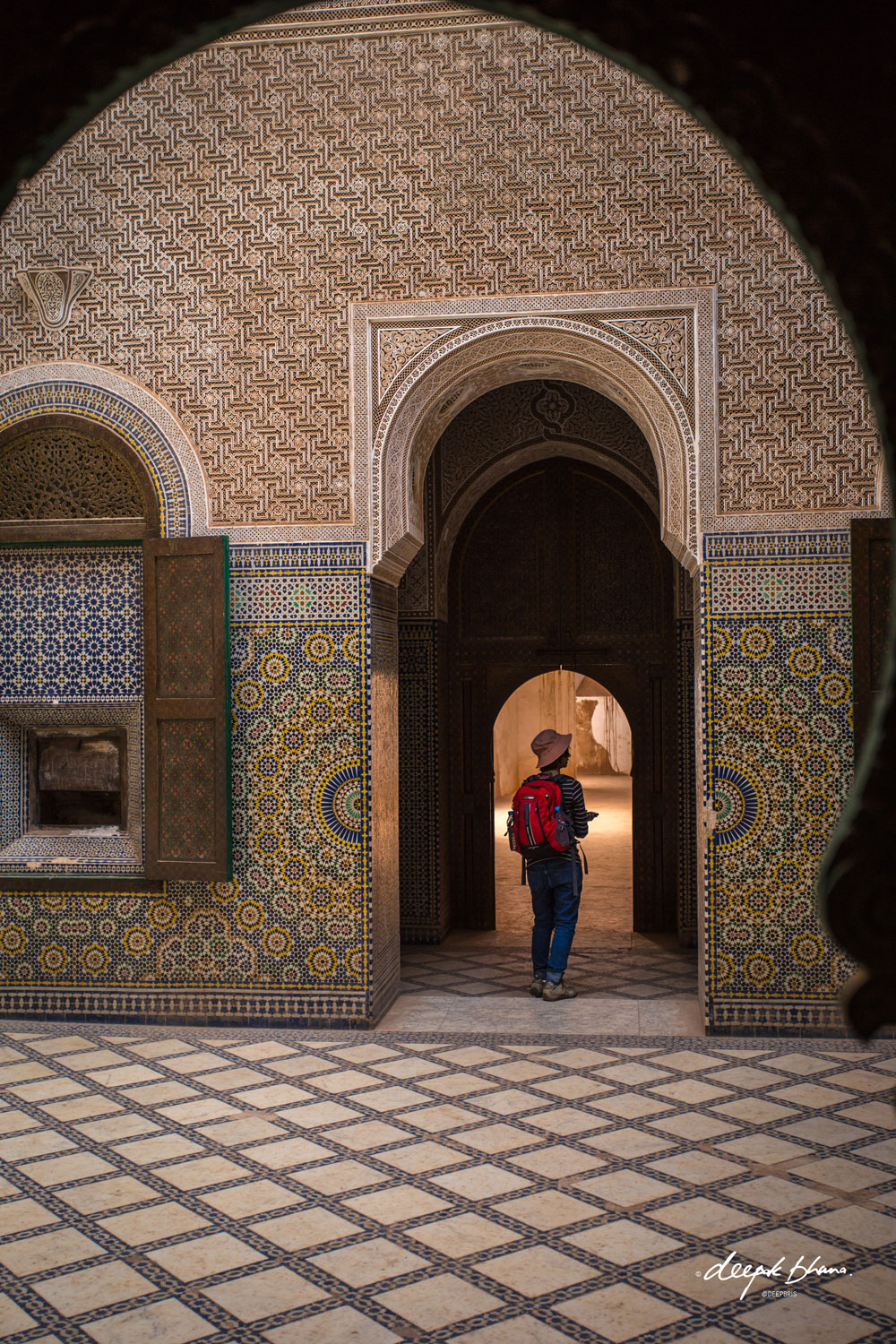 the-Telouet_Kasbah-Morocco-inside-arches