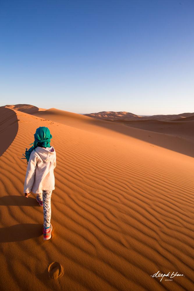 Todayfarer-family-Merzouga-Sahara-Morocco-walking-sand-dunes