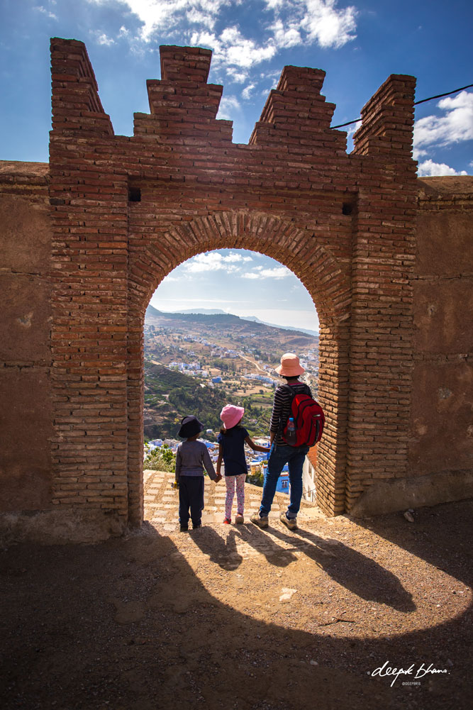 Todayfarer-family-CHefchaouen-Morocco-view-from-medina-wall
